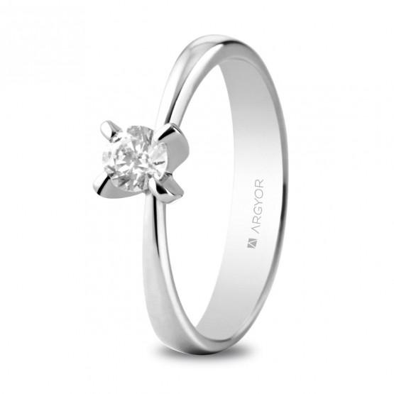 e106d91fb998 Anillo de compromiso con 1 diamante 0.34ct (74B0039)