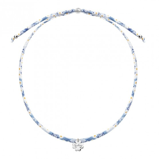 Gargantilla Liberty con colgante Trébol plata (3B8307509)