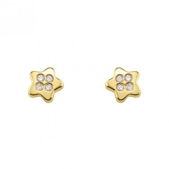 Pendientes de Bebé Estrella con diamantes (0316338)