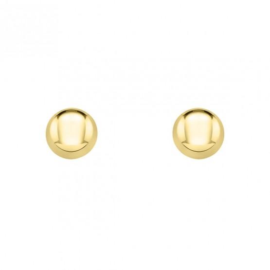 Pendientes de bebé de oro en forma de botón (03260902)