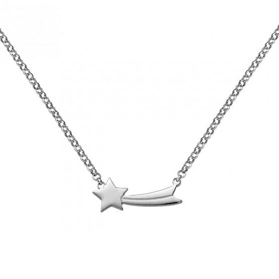 Collar de plata de 1ª ley Estrella Fugaz (3B8307312)