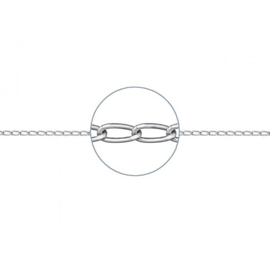 Cadena de plata cheval 40cm (34999C78)