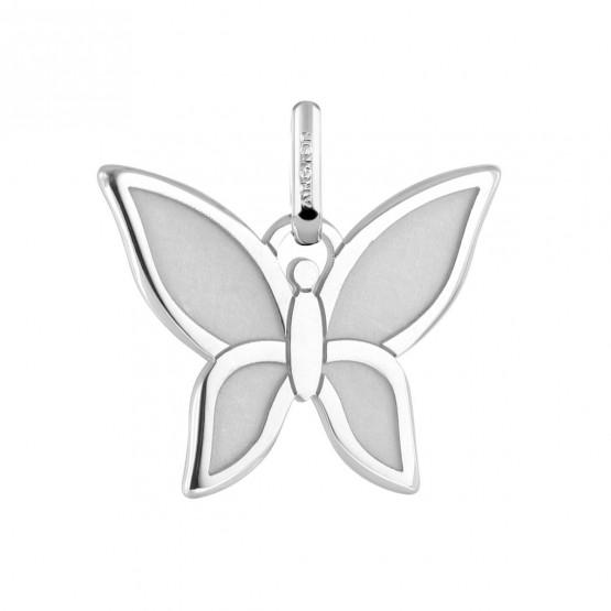 Colgante mariposa en plata (248400171)