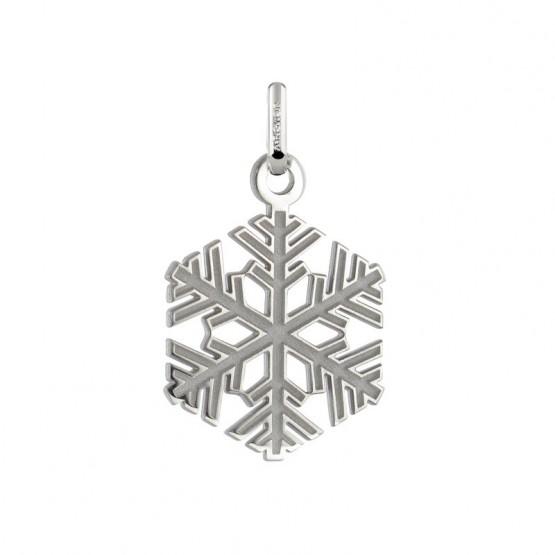 Colgante plata copo de nieve pequeño (248400178)