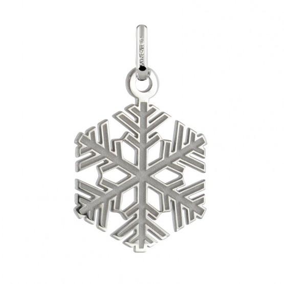 Colgante plata copo de nieve (248400166)