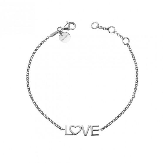 Pulsera de plata de ley 925 LOVE (4B8307305)