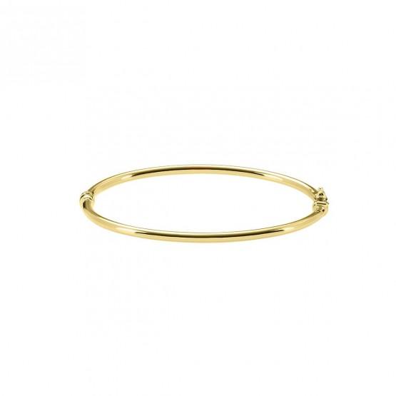 537fef2b1f2e Brazalete de oro amarillo 18k tubo 2.7mm (0470102A)