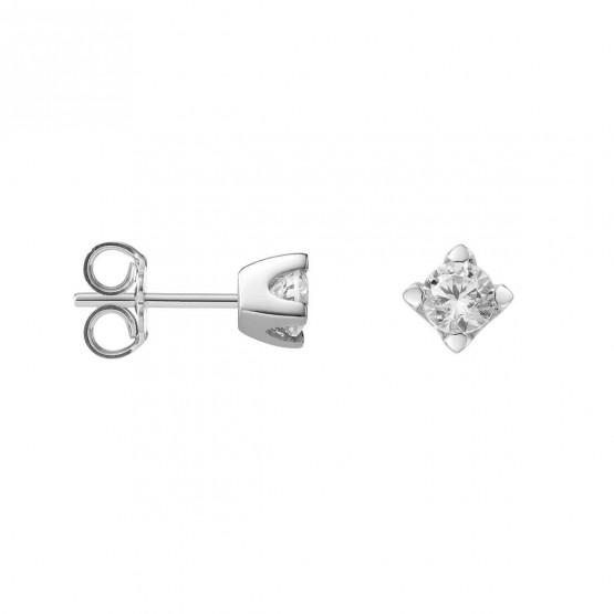 Pendientes de Diamantes de platino (75B0103)