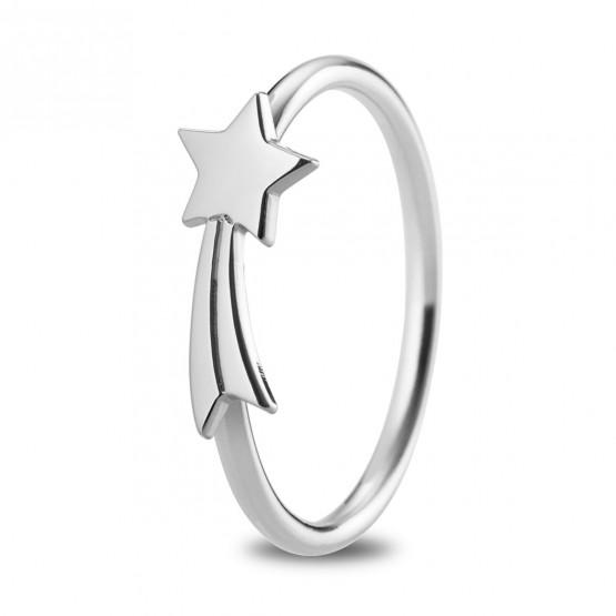 Anillo de plata de ley 925 Estrella Fugaz (7B8307312)