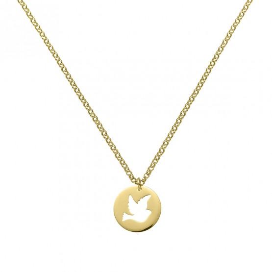 Colgante de oro 18k Paloma de la Paz (3A8307324)