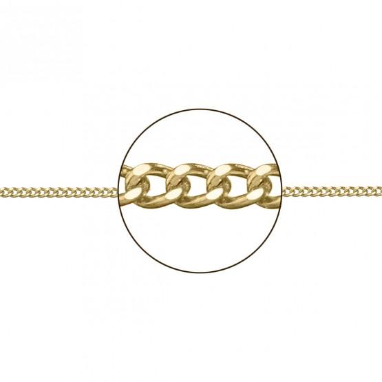Cadena de oro amarillo 18k barbada (066208025)