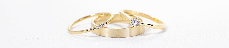 Anillos de compromiso oro amarillo de 18k | Argyor.es