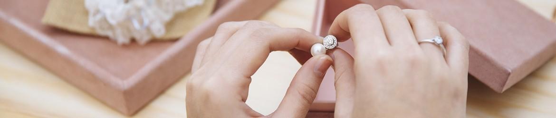 Pendientes de perlas para novias | Argyor.es