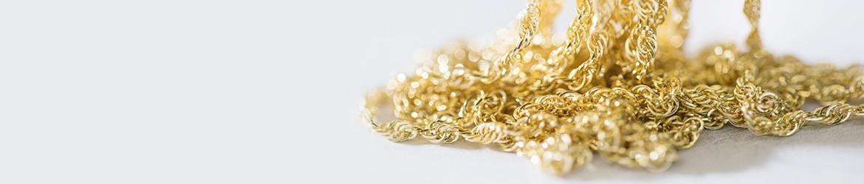 Cadenas de oro blanco y amarillo | Argyor.es